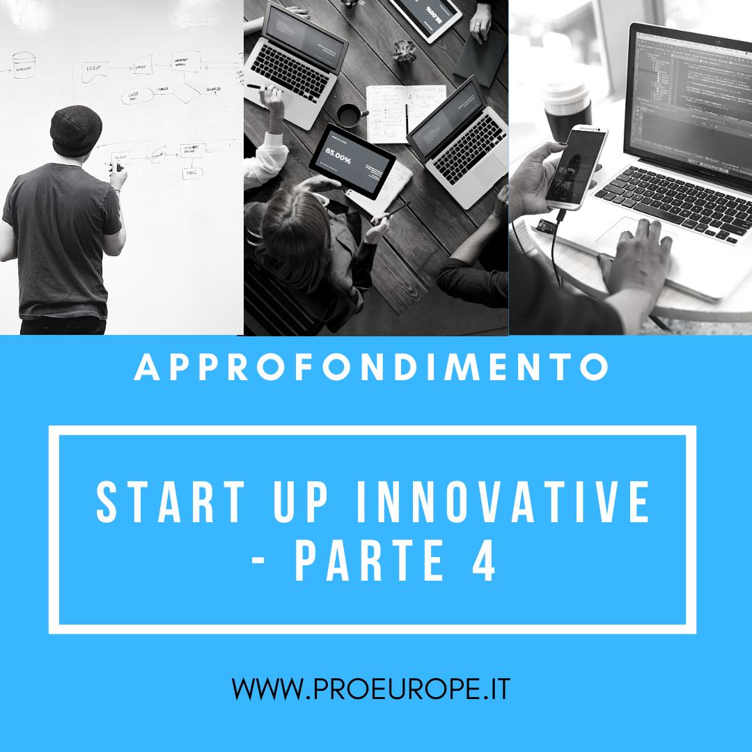start up innovative mantenimento requisiti